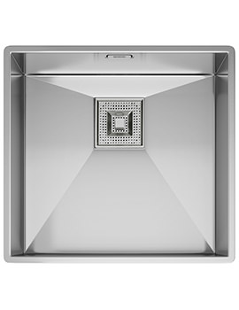 Peak PKX 110 45 Stainless Steel Undermount Kitchen Sink