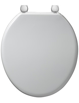 Bakasan Toilet Seat And Cover With Rod And Metal Hinges