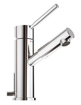 Related Jado Geometry A3 Basin Mixer Tap With Waste And 100mm Spout Projection