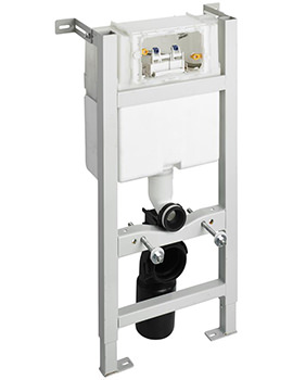 In-Wall 880mm WC Frame With Mechanical Top Or Front Operation