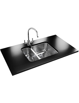 Related Franke Ariane Designer Pack ARX 160D Stainless Steel Kitchen Sink And Tap