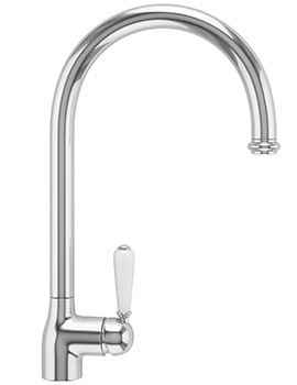 Belfast Pull-Out Nozzle Kitchen Sink Mixer Tap Chrome