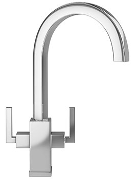 Planar Kitchen Sink Mixer Tap Chrome - 115.0049.999