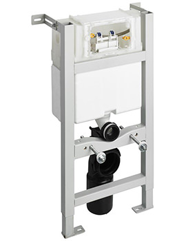 In-Wall 820mm WC Frame With Mechanical Top Or Front Operation