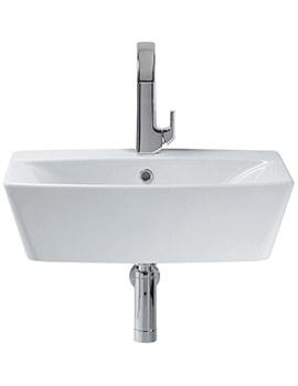 Sottini Delineo 600mm 1 Tap Hole Vessel Washbasin - T099401