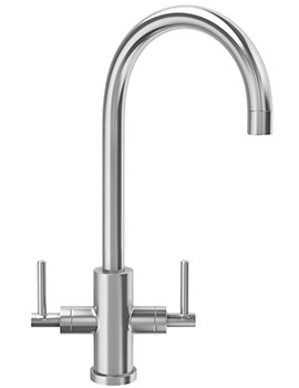 Panto Kitchen Sink Mixer Tap Solid Stainless Steel