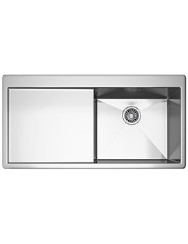 Planar PPX 211 Slim-Top 1.0 Bowl Stainless Steel Inset Sink