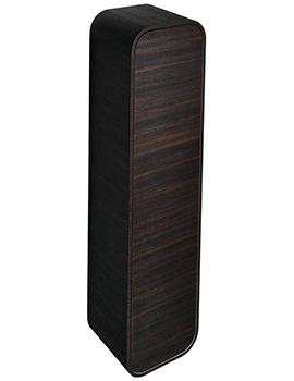 Dea 400 x 1600mm Dark Larch Wall Hung Column Storage Unit