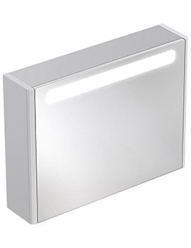 Related Ideal Standard Softmood Mirror Cabinet With Light 800 x 600mm