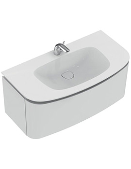 Dea Wall Hung 1000mm 1 Drawer Basin Unit - T7852WG