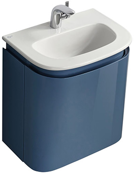 Dea Wall Hung 500mm Handrinse Basin Unit - T7853S7
