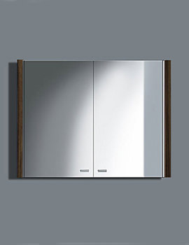 Related Duravit 2nd Floor 800mm Mirror Cabinet With Lighting - 2F 9652