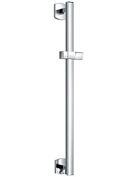 Dekka Shower Slide Rail With Integral Wall Outlet - DESSWO