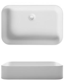 Related Bauhaus Fresco Rectangular Countertop Basin - CT05880UCW