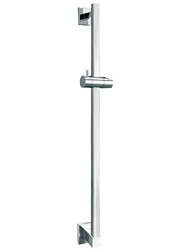 Flova Str8 Shower Slide Rail With Integral Wall Outlet - STSSWO