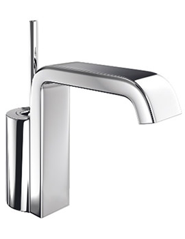 Jado Glance Basin Mixer Tap With 150mm Angular Spout Projection