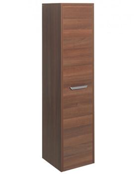 Essence 350 x 1440mm Tower Storage Unit Walnut