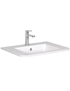 Celeste 600mm White Ceramic Basin - CL0611SCW
