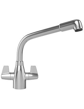 Davos Kitchen Sink Mixer Tap Chrome - 115.0046.694