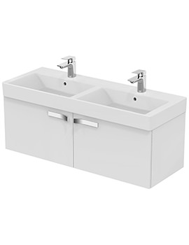 Ideal Standard Strada 1200mm Two Drawers Wall Mounted Basin Unit