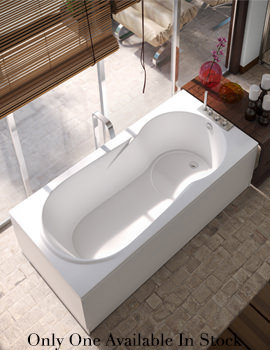 EX DISPLAY - Beo Status 5mm Acrylic Single Ended Bath 1700 x 700mm White
