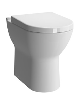 S50 Comfort Height Back To Wall WC Pan With Toilet Seat