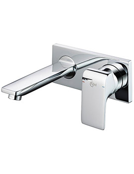 Ideal Standard Strada Wall Mounted Basin Mixer Tap - A6844AA