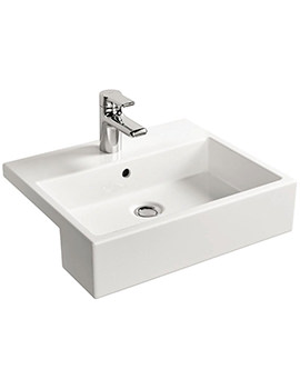 Ideal Standard Strada 500mm 1 Tap Hole Semi-Countertop Basin
