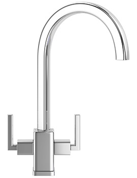 Mythos MTX Kitchen Sink Mixer Tap Chrome - 115.0049.965