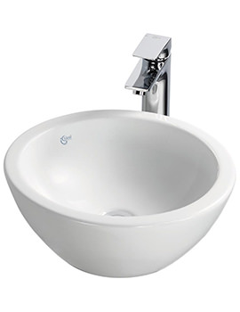 Related Ideal Standard Strada 420mm O Round Vessel Washbasin - K078301