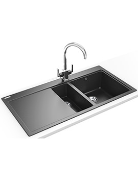 Mythos Designer Pack MTG 651-100 Fragranite Onyx Kitchen Sink And Tap