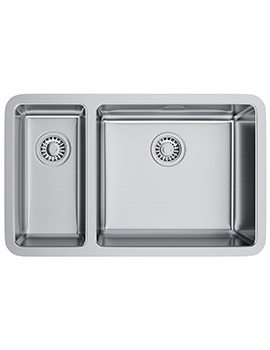 Related Franke Kubus KBX 160 45-20 Stainless Steel 1.5 Bowl Undermount Sink