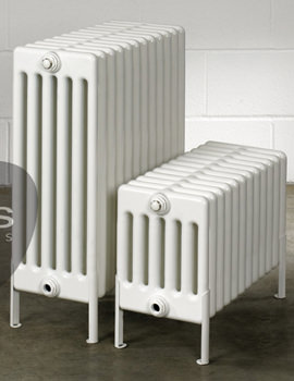 Multisec Floor 6 Column Radiator 1170 x 399mm - NMF-0300-6-26
