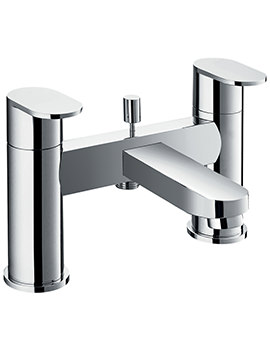 Flova Smart Bridge Style Bath And Shower Mixer Tap With Kit