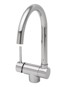 Tre Mercati Origami Sink Mixer Tap With Fold Down Spout - 91040
