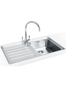 Laser Designer Pack LSX 611 Stainless Steel Kitchen Sink And Tap
