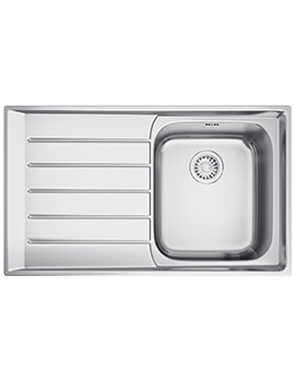 Neptune NEX 211 Stainless Steel 1.0 Bowl Kitchen Inset Sink