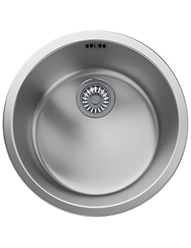 Rotondo RUX 110 Stainless Steel 1.0 Bowl Undermount Sink
