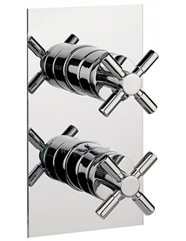 Totti Thermostatic Shower Valve With 3 Way Diverter