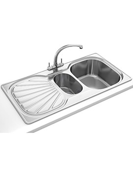 Erica Propack EUX 651 Stainless Steel Kitchen Sink And Tap