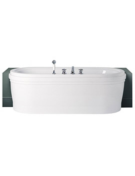 Sottini Reprise Rond Idealcast Double Ended 1700mm x 800mm Bath