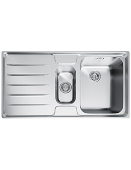 Laser LSX 651 1.5 Bowl Stainless Steel Kitchen Inset Sink