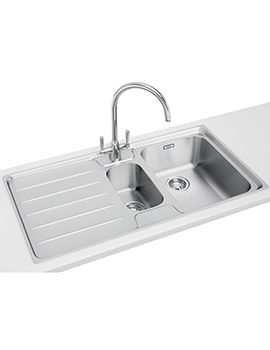 Laser Designer Pack LSX 651 Stainless Steel Kitchen Sink And Tap