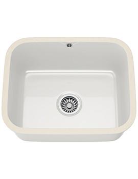 V And B VBK 110 50 Ceramic 1.0 Bowl Undermount Kitchen Sink