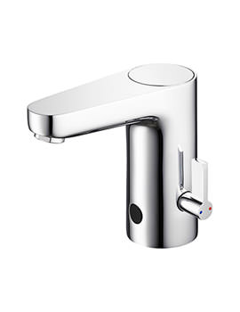 Sensorflow Wave Basin Mixer Tap With Temperature Control- Battery