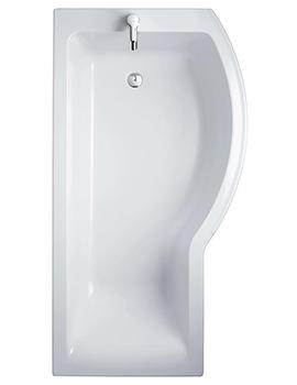 Sottini Santorini Idealform Plus Right Hand 1700 x 700mm Shower Bath
