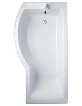 Sottini Santorini Idealform Plus Left Hand 1700 x 700mm Shower Bath
