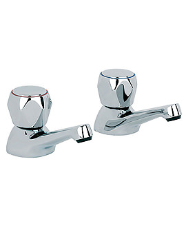 Alpha Bath Taps Pair - AL005