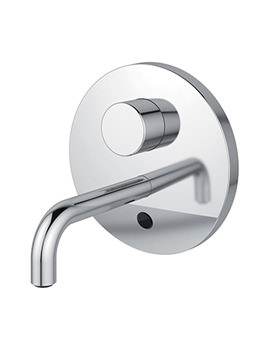 Sensorflow Wave 150mm Spout Basin Tap With Set Temperature - Mains