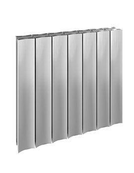 Reina Luca Double Horizontal Aluminium Radiator 470 x 600mm A-LU047PD